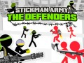 Игры Stickman Army: The Defenders
