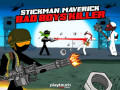 Игры Stickman Maverick: Bad Boys Killer